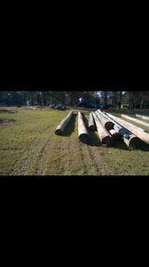 Telegraph poles Wilberforce Hawkesbury Area Preview