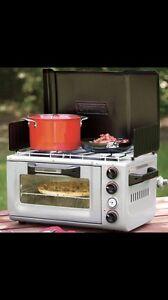 Coleman  twin burner oven combo Mount Warren Park Logan Area Preview