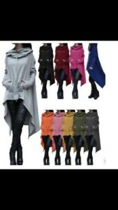 Blue (as seen in picture ) sweater poncho