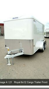 Cargo trailer 6' x12' royal