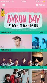 Wanting 1x 3 day byron bay falls festival ticket