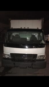 Camion cube 20 pied
