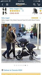 BRAND NEW stroller baby jogger city select.