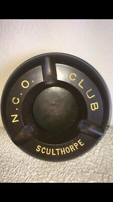 Military N.C.O. club Sculthorpe ashtray (made in England) for sale  Sugar Land
