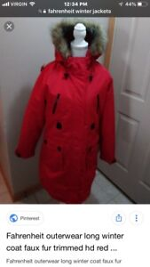 Ladies Small winter coat brand new with tag