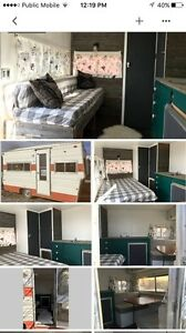 Travel Trailer Rental - Vintage, Glamping