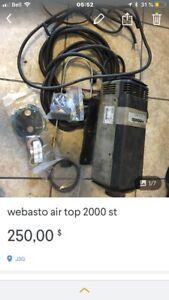 ensemble webasto air top 2000 st complet