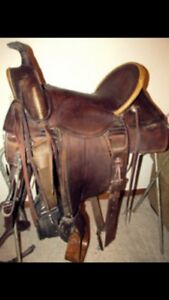 Looking for old saddles