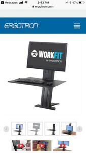 Ergotron  Workfit-Sr. Sit-Stand Work station