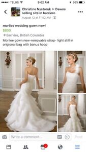 Wedding gown by morilee