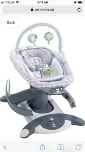 Fisher Price 4 in 1 rock n' glide soother