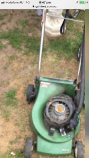 Vintage Victa Compact Lightweight 2 Stroke Petrol Lawn Mower