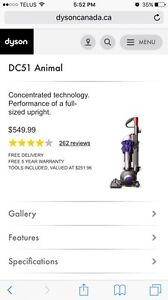 Brand New Condition Dyson DC51 Animal Vacuum Cleaner Edmonton Edmonton Area image 2
