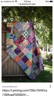 Wanted: Looking for someone to make a patchwork quilt