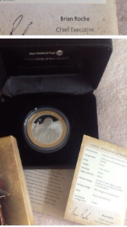 The Hobbit Silver proof coin with gold plating