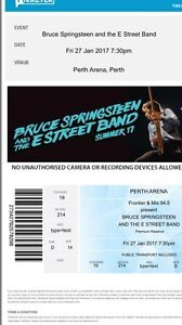 Bruce Springsteen Friday 27th Jan Innaloo Stirling Area Preview