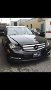 2012 Mercedes C250 4Matic $14500