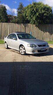 2003 BA FORD FALCON XR6 LOW KMS FACTORY SUNROOF 12 MONTHS REGO