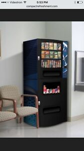 New CRC vending machine for sale