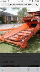 Looking for a Allis-Chalmers roto baler