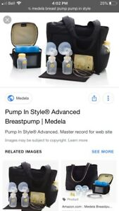Medela double electric breast pump- like brand new