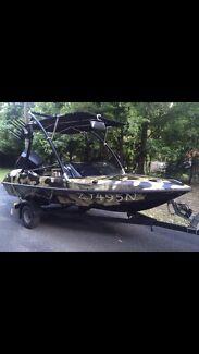 Ski boat 14.5ft pride cheetah