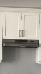 "30"" BROAN range hood - stainless steel"