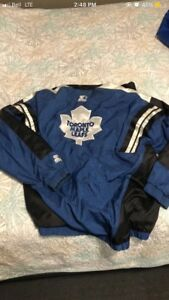 Vintage Toronto Maple Leafs Windbreaker
