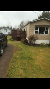 2 Bdrm Minihome PET FRIENDLY Avail. March 1st 1050$/mth All.Inc