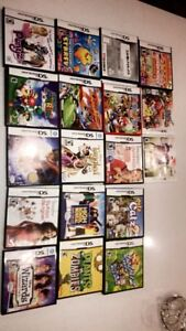 17 gently used DS games