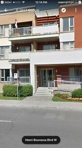 Beautifull 4 1/2 condo for rent Ahuntsic indoor garage included