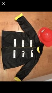 Incredible quality kids dress up firefighter jacket