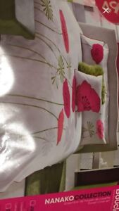 Duvet cover set for twin bed