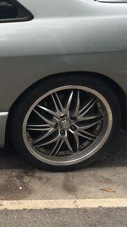 "Speedy 19"" wheels 5x114.3 suit nissan ford"