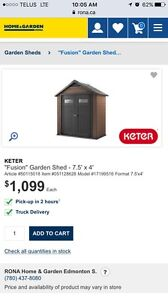 Keter Fusion Garden Shed