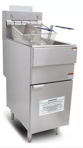 Commercial Gas Fryer LPG Propane Infernus Chip Fryer NEW!