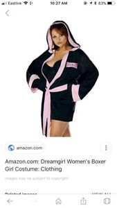 LOOKING for women's boxing outfit