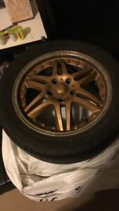 5x114.3 Rims with Rubber
