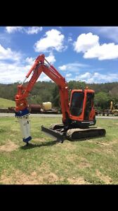 GTX HAMMERS 6-14T AND BACKHOE Kingsholme Gold Coast North Preview