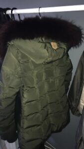 Mackage Adali-F Down Jacket in Army/Berry