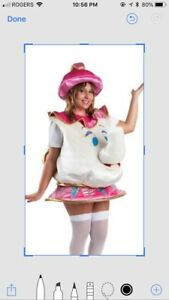 Child's Mrs Potts costume for rent or sale