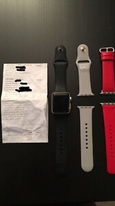 New Apple Watch Series 2 - 38mm with Apple Care + Extra Bands