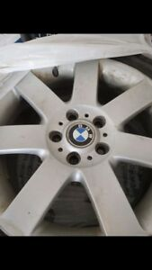 17 inches BMW OEM mags and winter tires