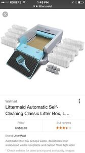 Self cleaning litter box brand new