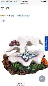 TopFin Clam Bubbler Brand New