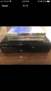 Mint condition XBOX 360 with games