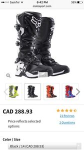 Fox comp 5 riding boots