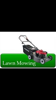 Lawn mowing rubbish removal from $35 call me on