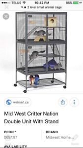 Critter cage 2 levels
