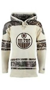 MENS LARGE CONNOR MCDAVID EDMONTON OILERS HOODIE NEW WITH TAGS